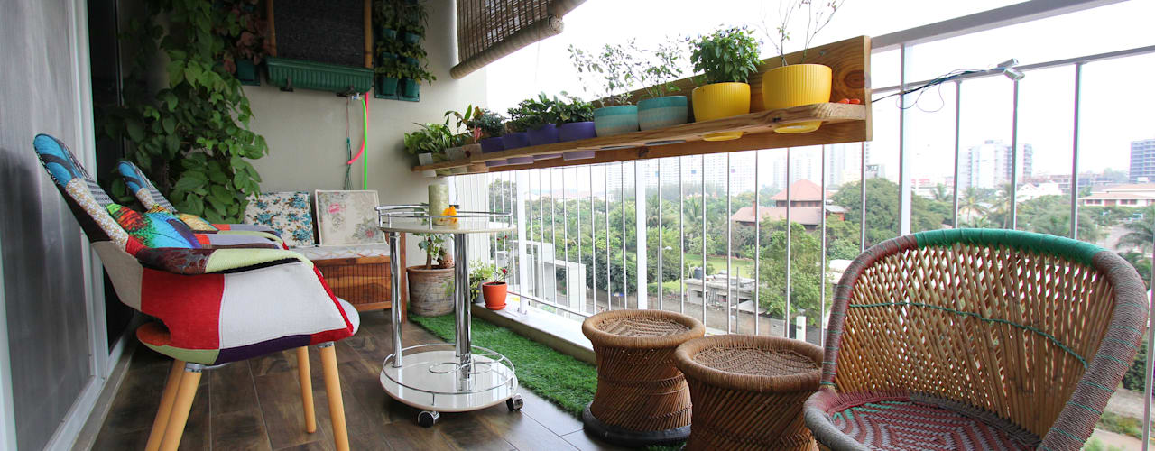 Simple Balcony Garden Design Ideas For Indian Homes