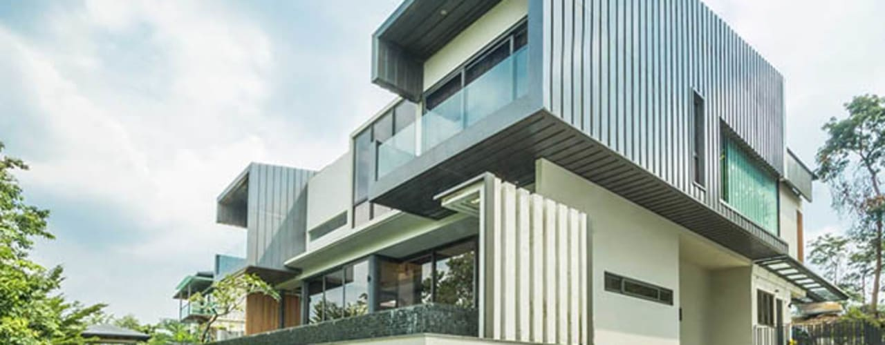Country Heights Damansara:  Houses by MJKanny Architect
