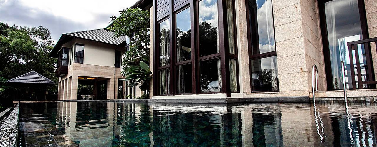 MJ Kanny Architect Tropical style pool
