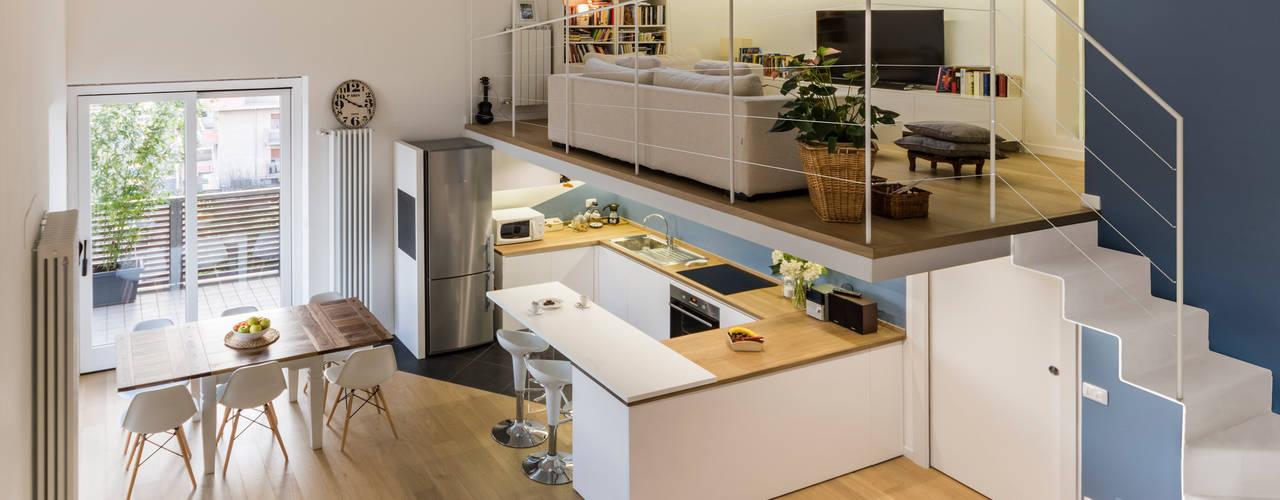 Annalisa Carli Living room Wood Multicolored