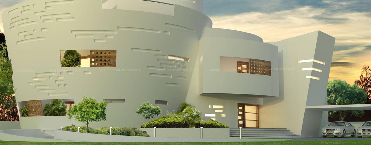von S Squared Architects Pvt Ltd. Modern