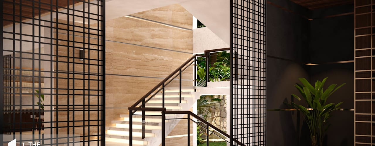 Escaleras de estilo  por The Page Interior & Design