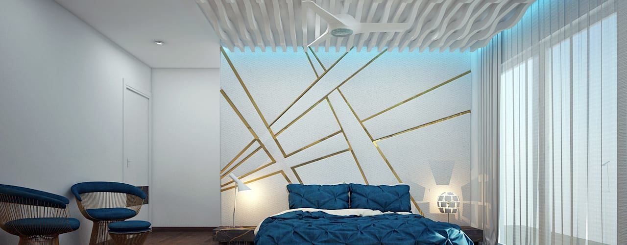 Residential: modern Bedroom by Designism