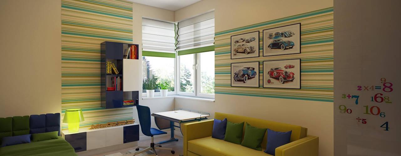 Teen bedroom by Технологии дизайна