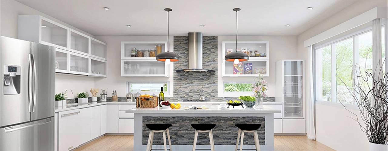 Casa Allea Kitchen :  Kitchen by Constantin Design & Build