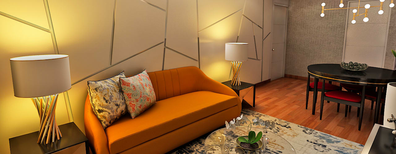 Living room by Luis Escobar Interiorismo, Modern