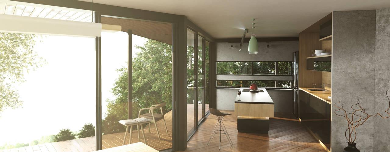 Casa C-J de Adrede Diseño Moderno