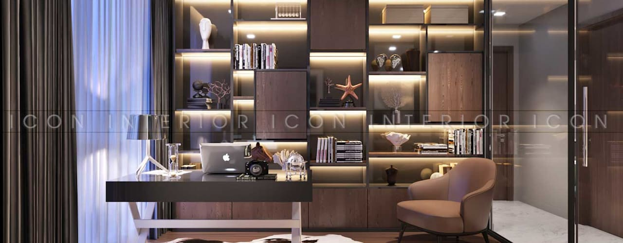 Study/office by ICON INTERIOR, Modern