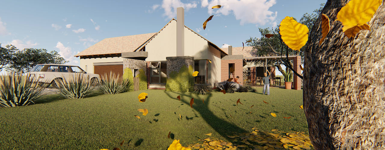 House Snyman:  Houses by Property Commerce Architects