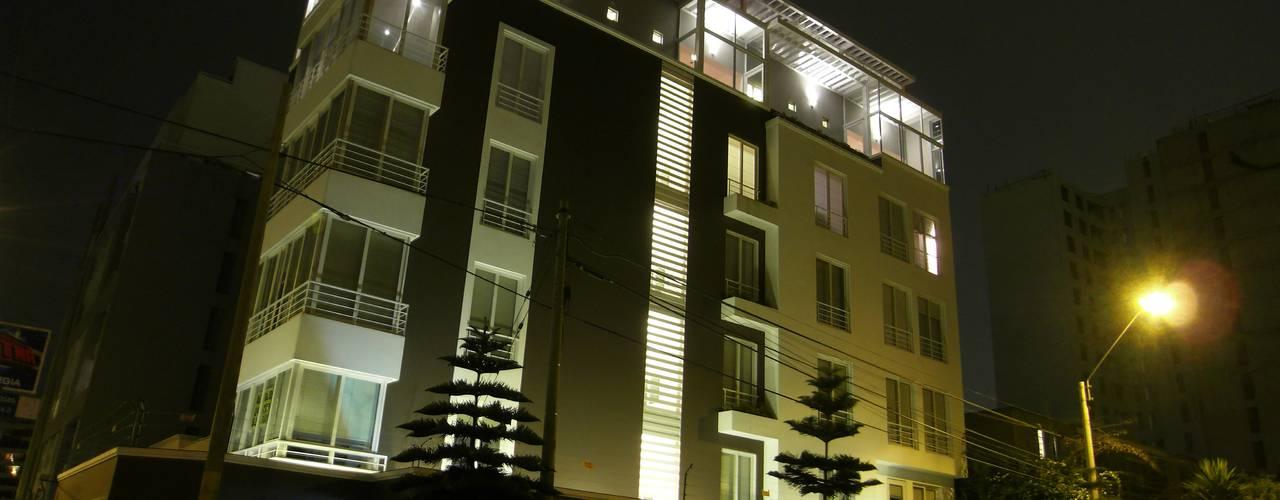 Penthouse Barranco: Casas de estilo  por Artem arquitectura,