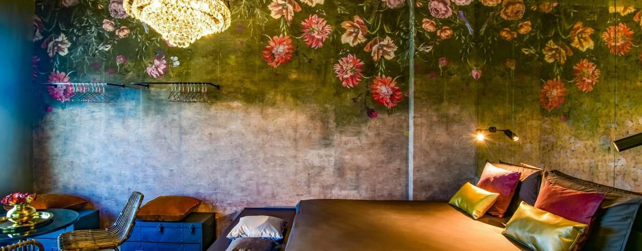 BORGO 48 Camera da letto eclettica di Arabella Rocca Architettura e Design Eclettico
