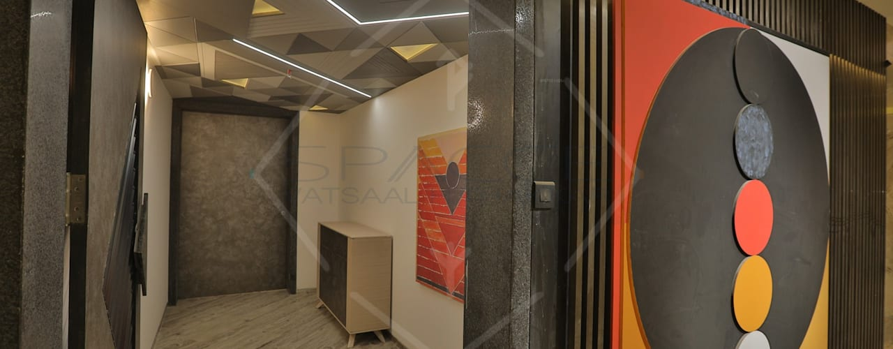 EXPRESSION:  Corridor & hallway by SPACCE INTERIORS
