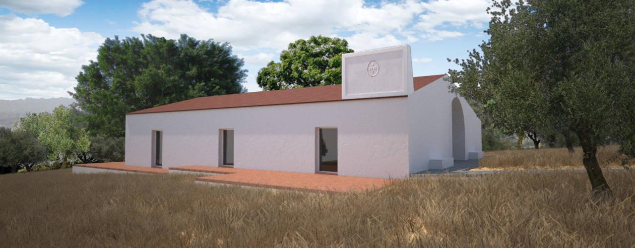 Vista de Nordeste: Casas de campo  por André Pintão