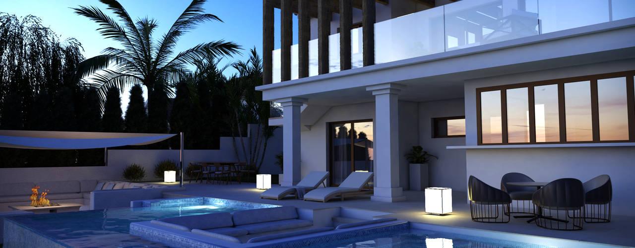 Villa en Rojales, Alicante Pacheco & Asociados Casas de estilo clásico