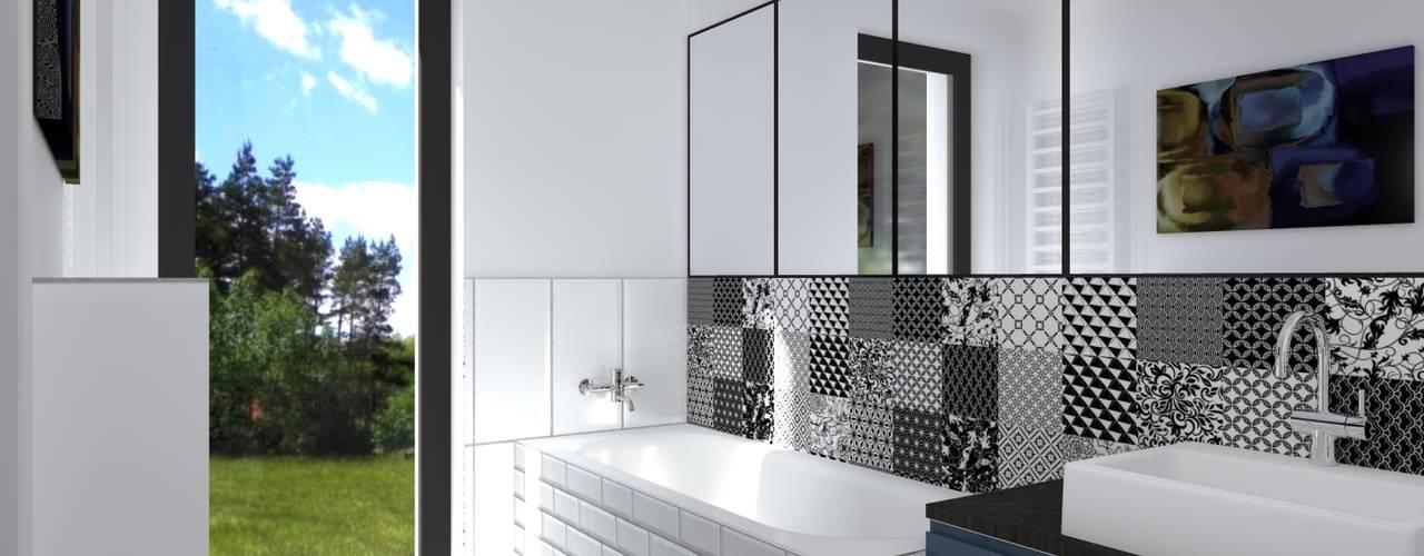 The concept of interior design_house IN02 من BOOM studio