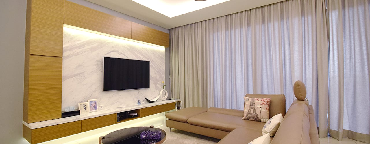 Modern living room by Hatch Interior Studio Sdn Bhd Modern