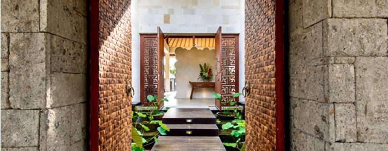 Villa Saya Koridor & Tangga Gaya Asia Oleh HG Architect Asia