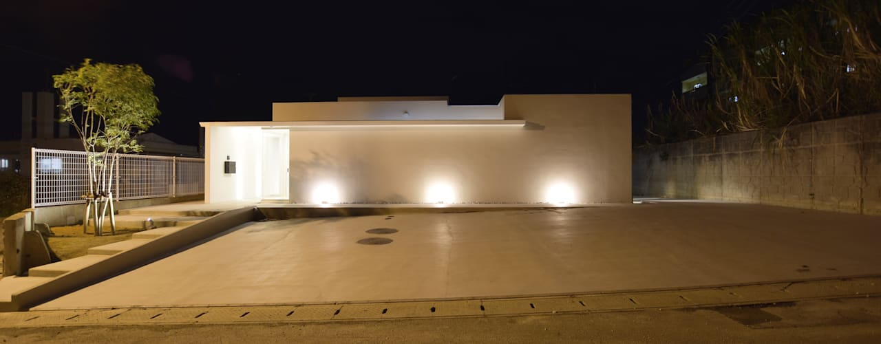 M-YAESE PJ.2018 Style Create 一戸建て住宅 鉄筋コンクリート 白色