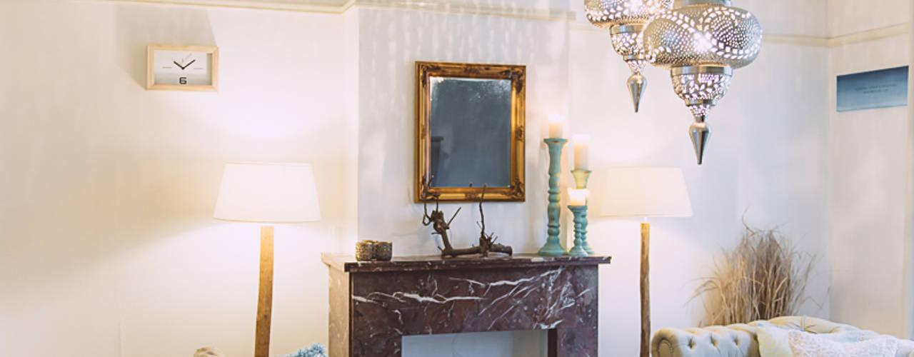 غرفة المعيشة تنفيذ Whitehouse decorations , حداثي