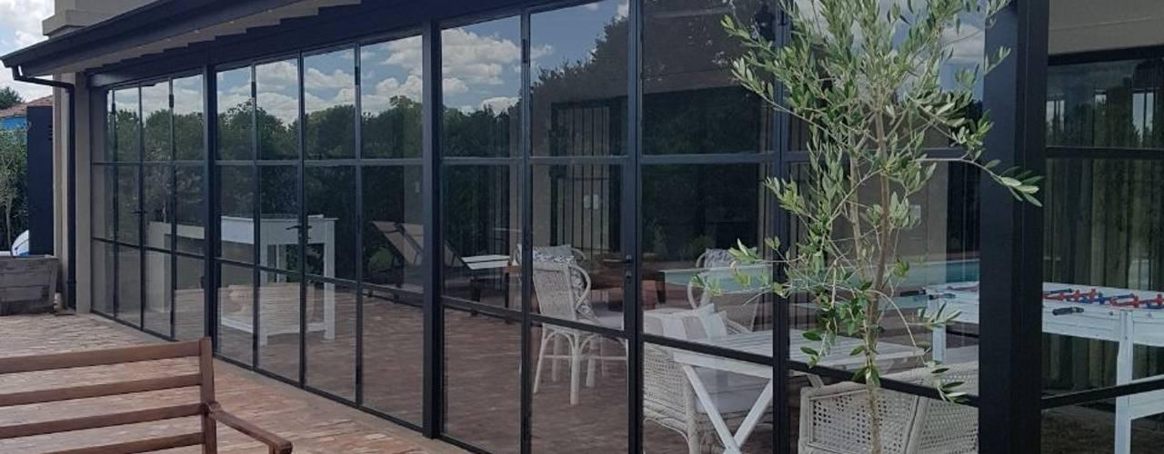 Jardines de invierno de estilo clásico de Estudio Dillon Terzaghi Arquitectura - Pilar Clásico