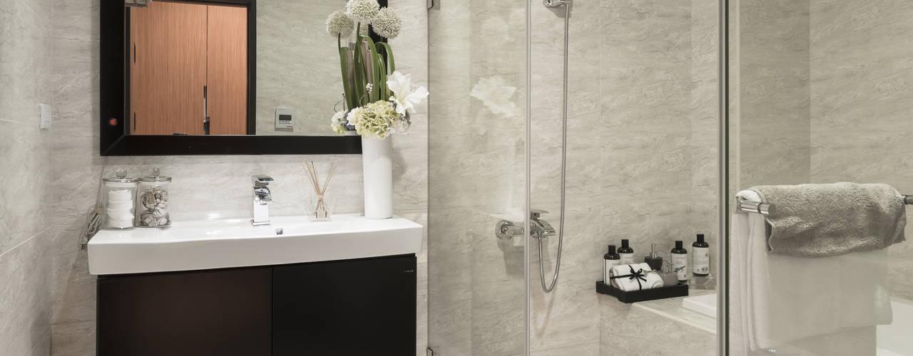 簡約 / 都會風 現代浴室設計點子、靈感&圖片 根據 騰龘空間設計有限公司 現代風
