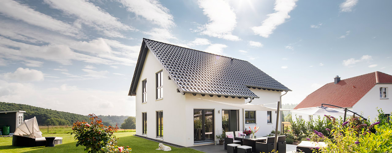 NEO 311 - Ein Zuhause wie eine Insel:  Fertighaus von FingerHaus GmbH