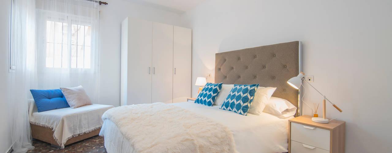 Dormitorio ppal después:  de estilo  de CASA IMAGEN