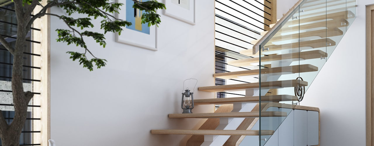 House 516:  Stairs by Studio Gritt