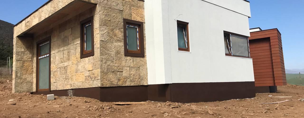 od Territorio Arquitectura y Construccion - La Serena Nowoczesny