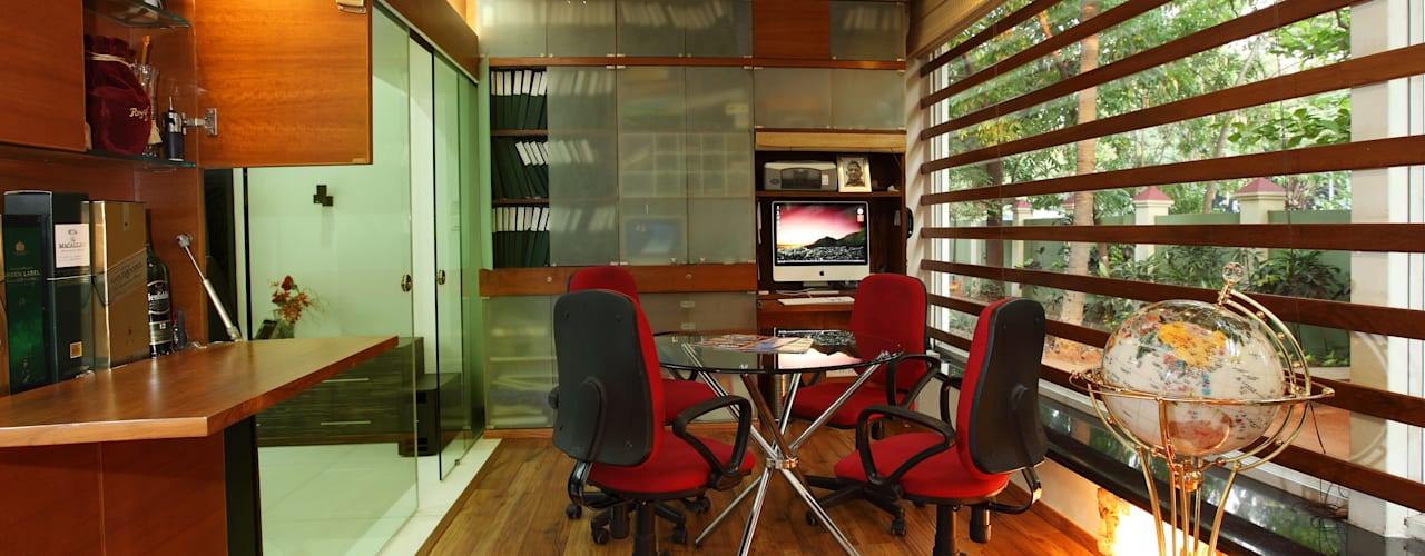 Doshi Residence:  Study/office by Architecture Continuous