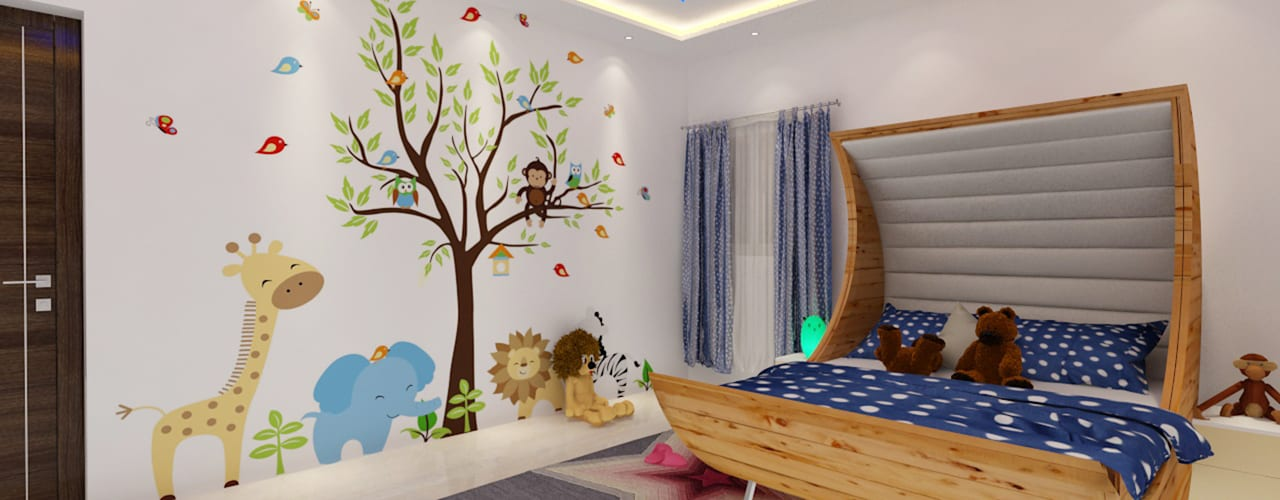 Project 9 Rhythm And Emphasis Design Studio Moderne Kinderzimmer
