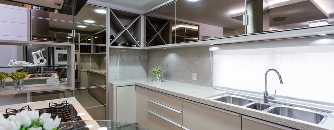 Mais Art & Design Kitchen units MDF Beige