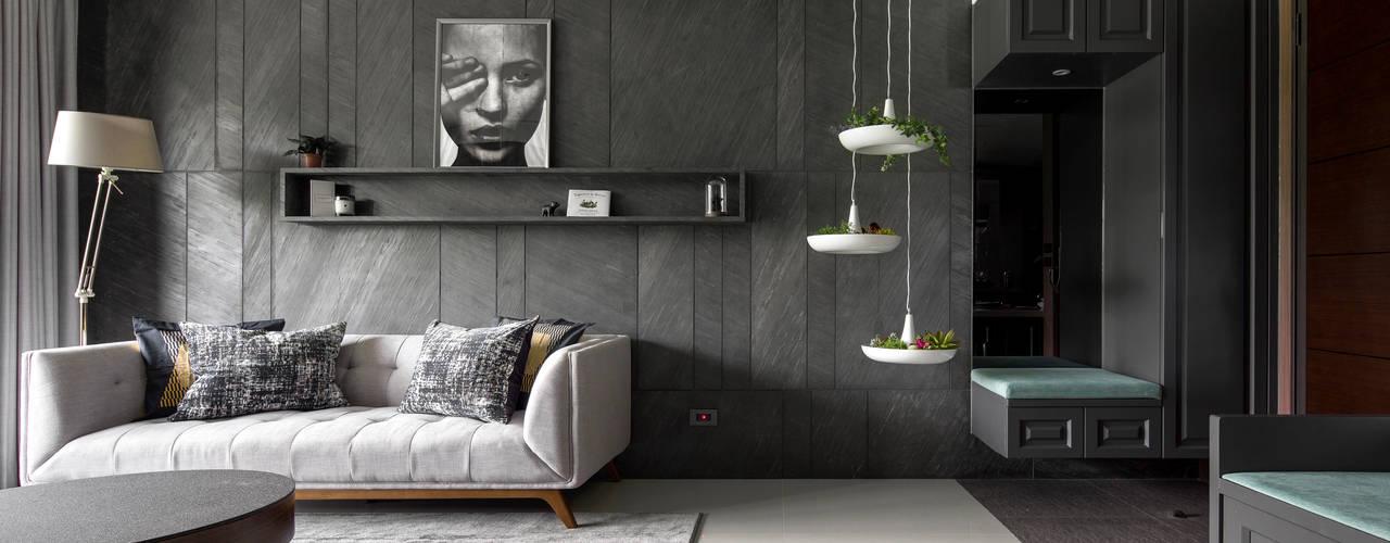 Modern living room by 鈊楹室內裝修設計股份有限公司 Modern