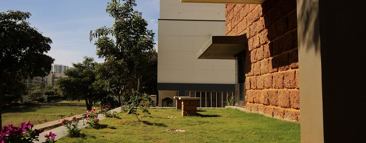 Home Design Ideas Bangalore: Open Plan Living And Rustic Home Design Ideas From