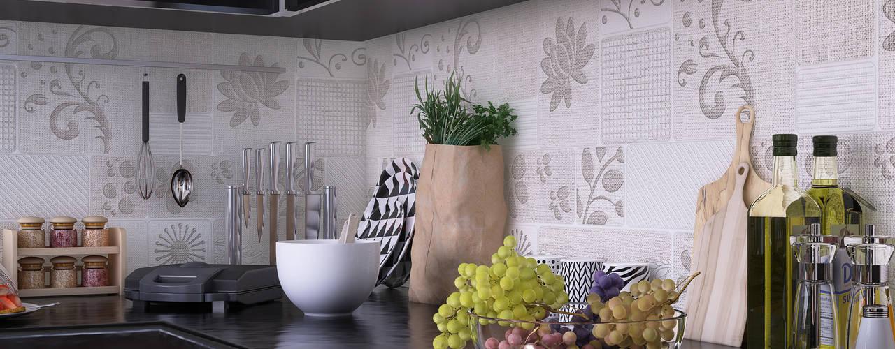 KITCHEN:  Kitchen by VIZPIXEL STUDIO