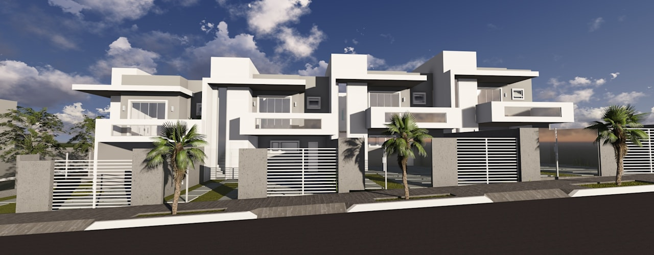 Condomínio Horizontal Solaris Residence por Cláudia Legonde Moderno
