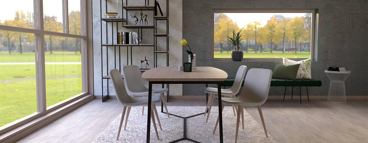 Dining room by BORAGUI - Design Studio