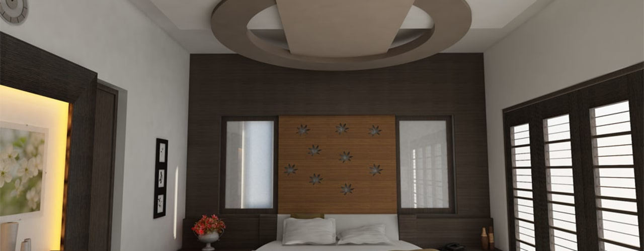 INTERIOR OF MASTERBEDROOM:   by Monoceros Interarch Solutions