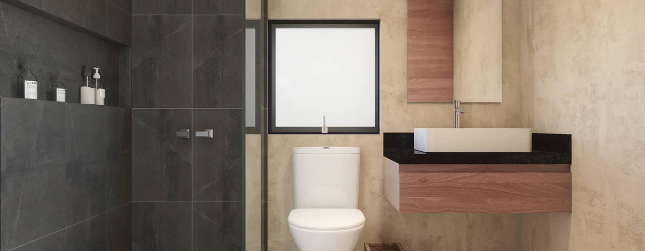 LAHKAH Tulum Taller Veinte Baños minimalistas
