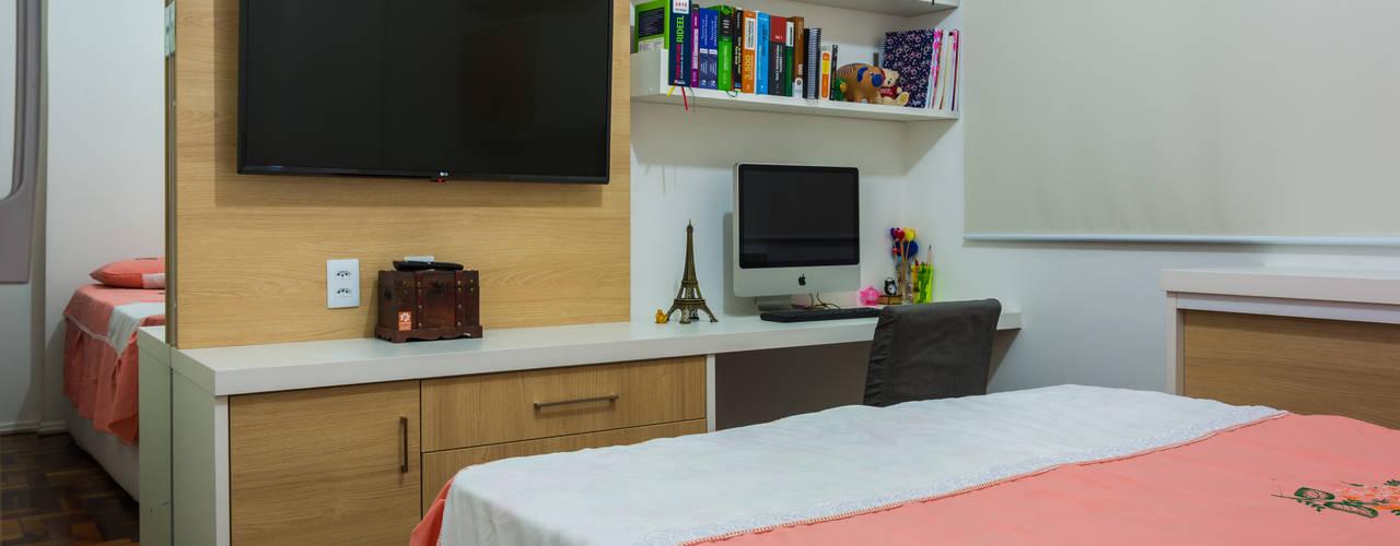 Dormitorios modernos de Joana Rezende Arquitetura e Arte Moderno
