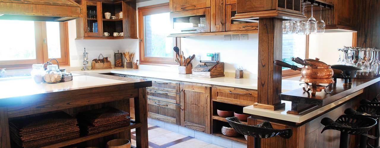 Cocinas r sticas espacios c lidos y acogedores - Decoradores de casas ...