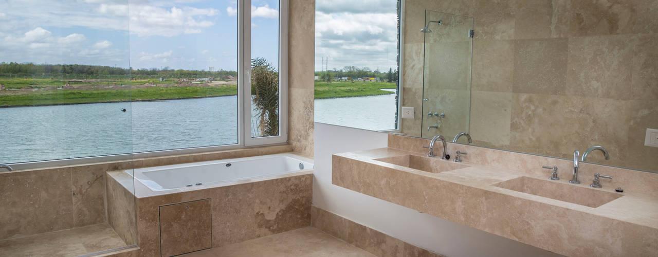 Estilo Moderno Baños modernos de CIBA ARQUITECTURA Moderno