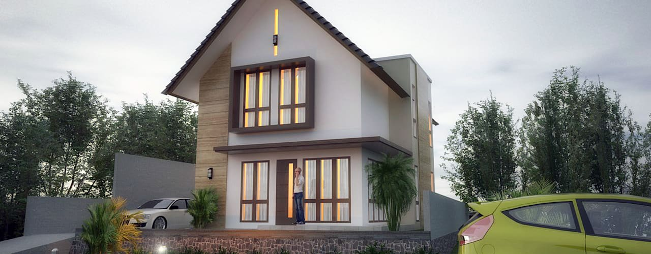 Rumah Tinggal - Bpk. Dasman Hadi: Rumah tinggal  oleh graha reka arsidea, Tropis
