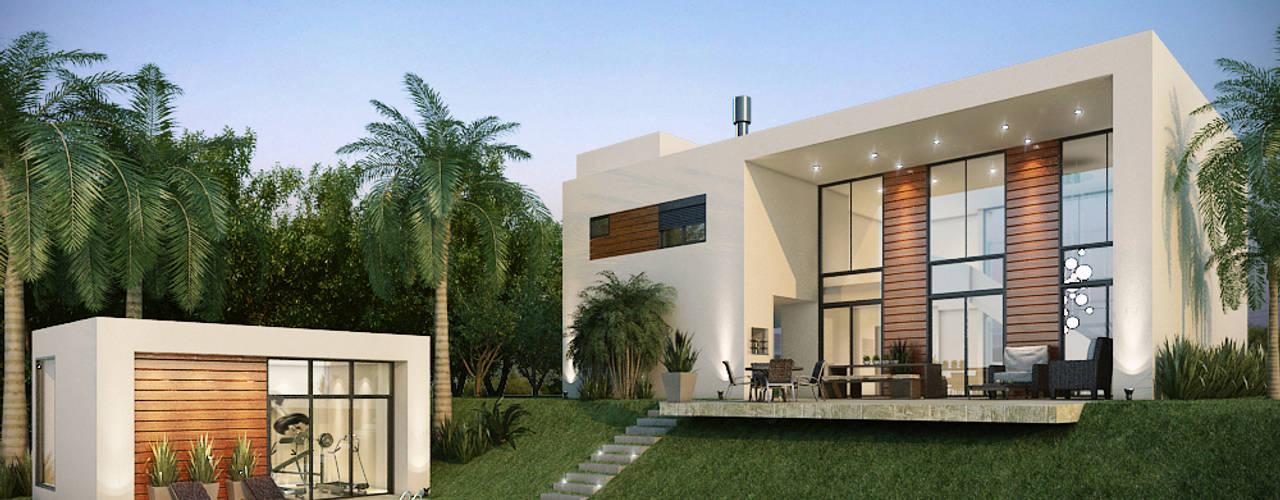 Loft AG: Casas  por Paulo Stocco Arquiteto