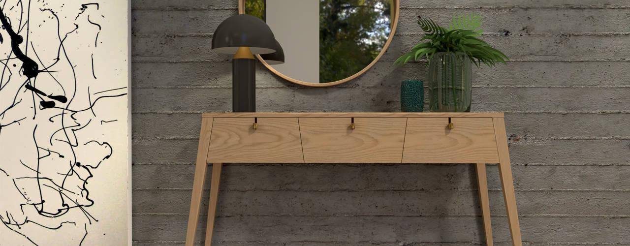 Koridor & Tangga Modern Oleh BORAGUI - Design Studio Modern