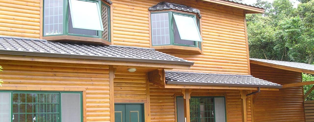 日式木屋別墅 根據 地興木屋有限公司 日式風、東方風