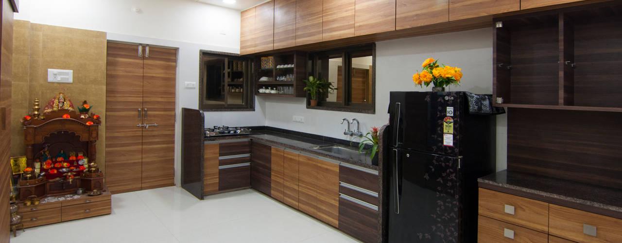 Interior of Residence for Mr. Chandrashekhar R:   by ABHA Design Studio