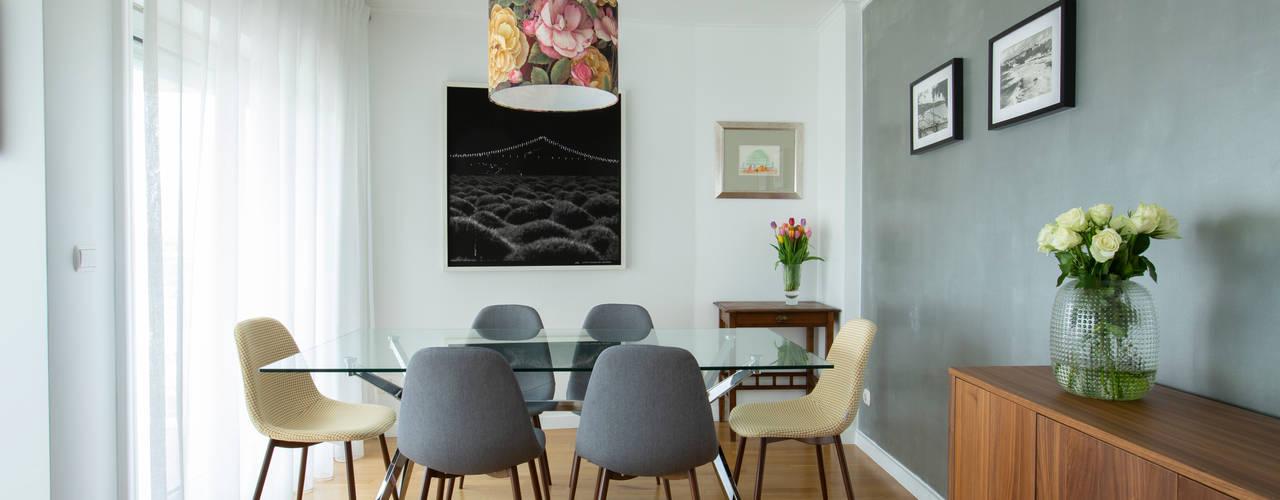 Projeto 52 | Sala Alta de Lisboa maria inês home style Salas de estar modernas