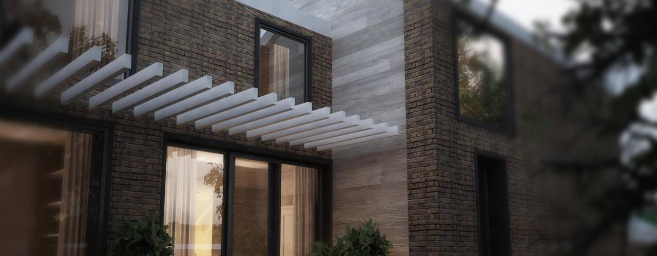 Архитектор дома: Загородные дома в . Автор – Архитектурная студия Чадо