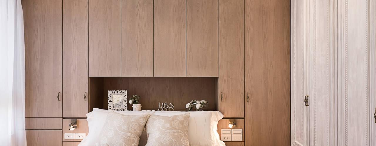 Mediterrane slaapkamers van 文儀室內裝修設計有限公司 Mediterraan